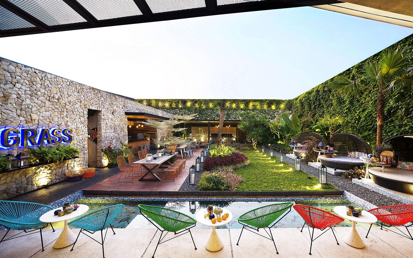 Stylish Tropical Paradise Theme of Lemongrass Restaurant Designed by Einstein & Associates-06