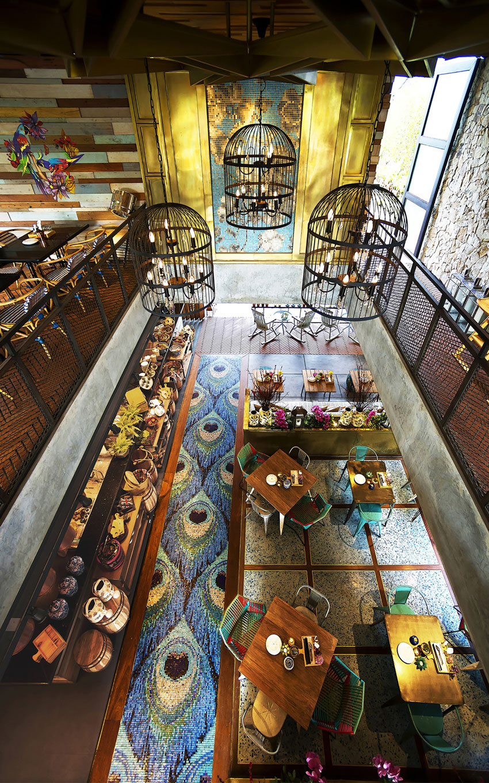 Stylish Tropical Paradise Theme of Lemongrass Restaurant Designed by Einstein & Associates-09