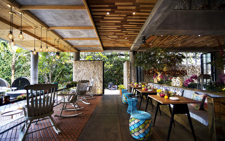 Stylish Tropical Paradise Theme of Lemongrass Restaurant Designed by Einstein & Associates-13