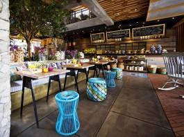 Stylish Tropical Paradise Theme of Lemongrass Restaurant Designed by Einstein & Associates