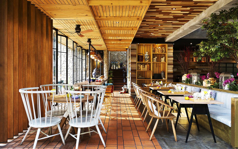 Stylish Tropical Paradise Theme of Lemongrass Restaurant Designed by Einstein & Associates-16