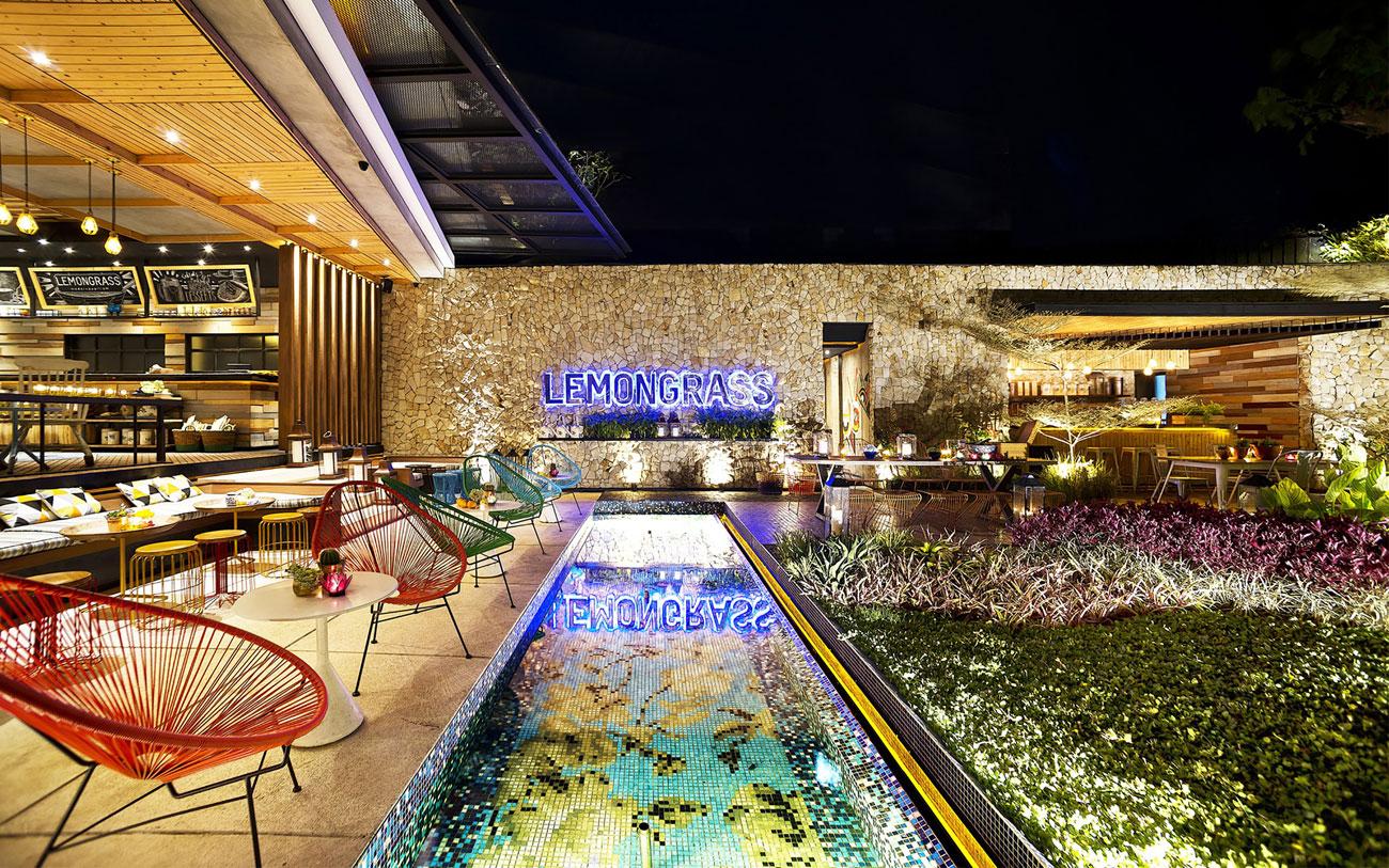 Stylish Tropical Paradise Theme of Lemongrass Restaurant Designed by Einstein & Associates-20
