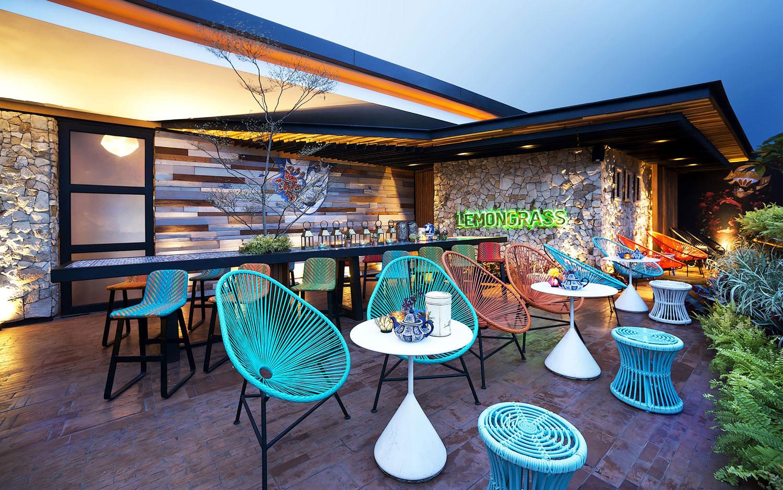 Stylish Tropical Paradise Theme of Lemongrass Restaurant Designed by Einstein & Associates-21