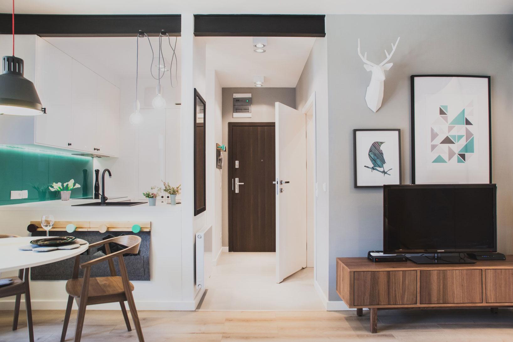 Szafarnia 2 Compact Apartment by Raca Architekci-03