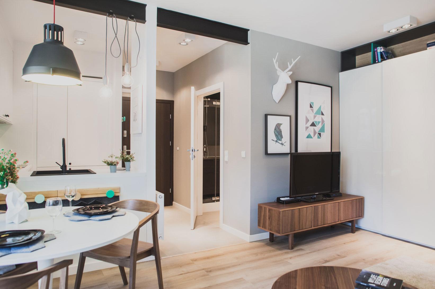 Szafarnia 2 Compact Apartment by Raca Architekci-04