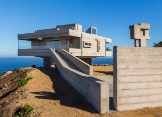 The Mirador House: located on a cliff enjoying awesome sea views by Gubbins Arquitectos