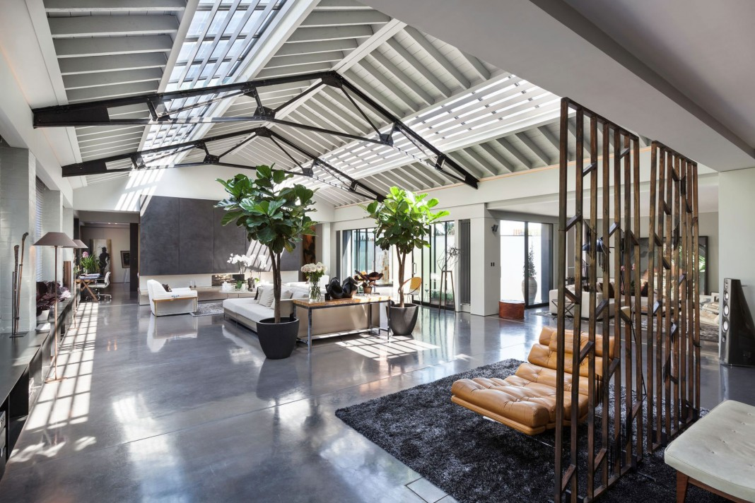 The Talisman Building: conversion of a warehouse into a modern penthouse in London
