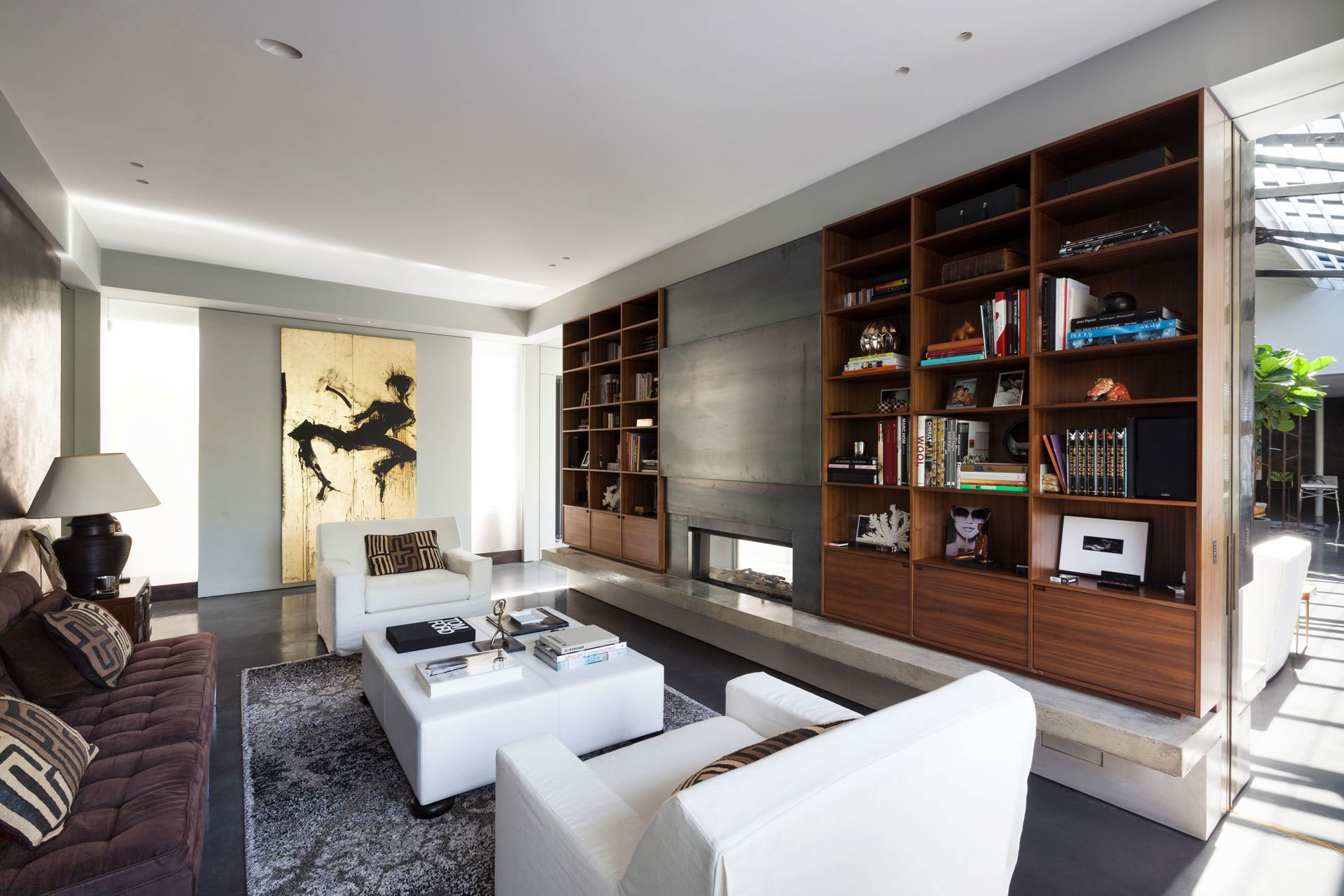 The Talisman Building conversion of a warehouse into a modern penthouse in London-06