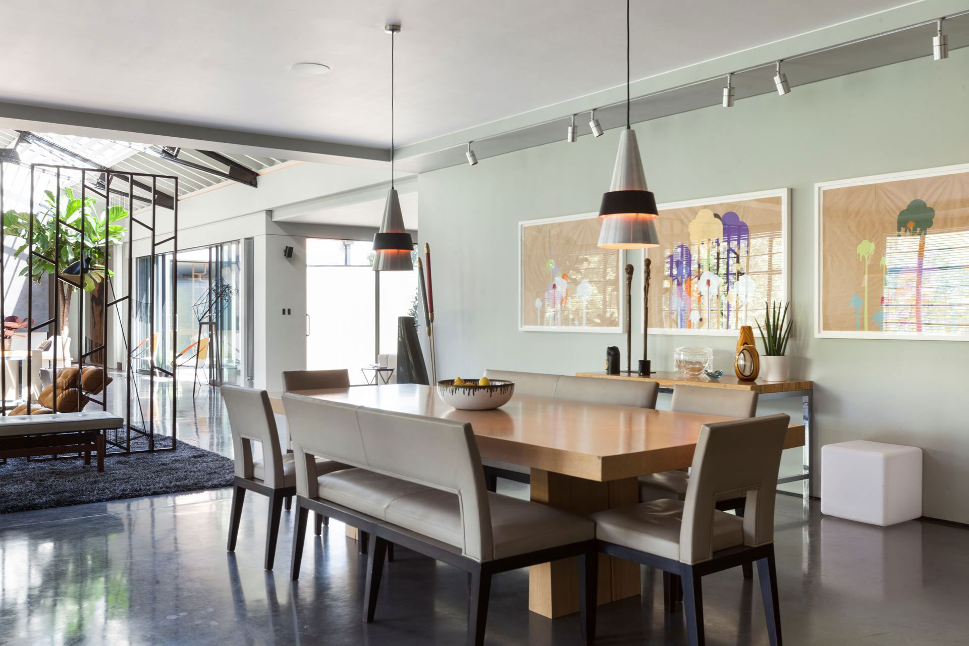 The Talisman Building conversion of a warehouse into a modern penthouse in London-09