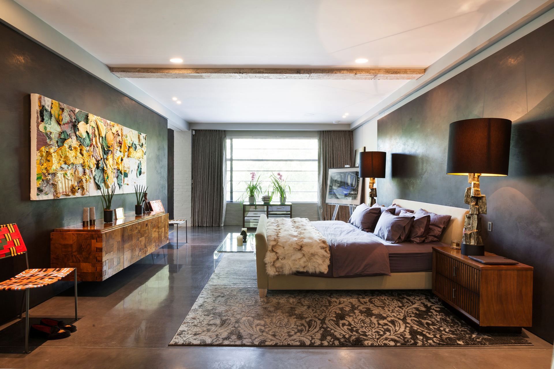 The Talisman Building conversion of a warehouse into a modern penthouse in London-11
