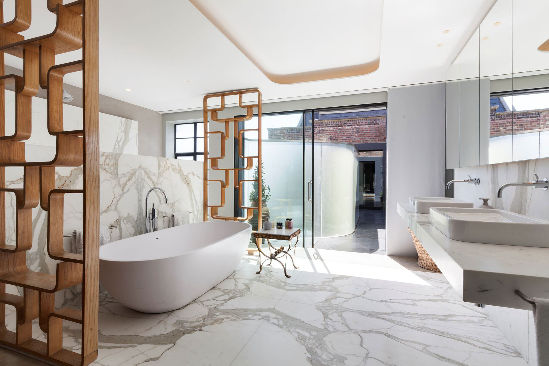 The Talisman Building conversion of a warehouse into a modern penthouse in London-12