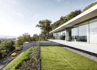 The ultramodern mountain villa K by Paul de Ruiter Architects