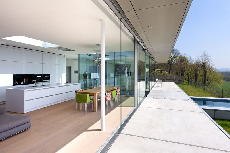The ultramodern mountain villa K by Paul de Ruiter Architects-04