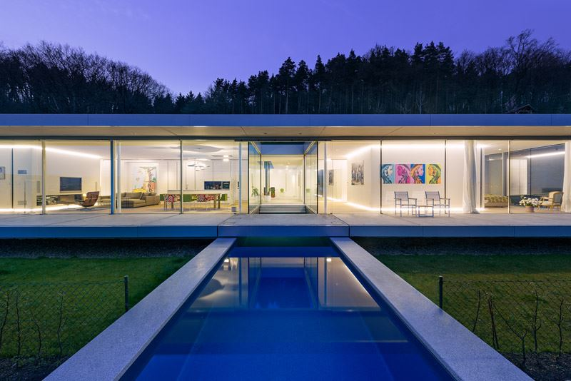 The ultramodern mountain villa K by Paul de Ruiter Architects-09