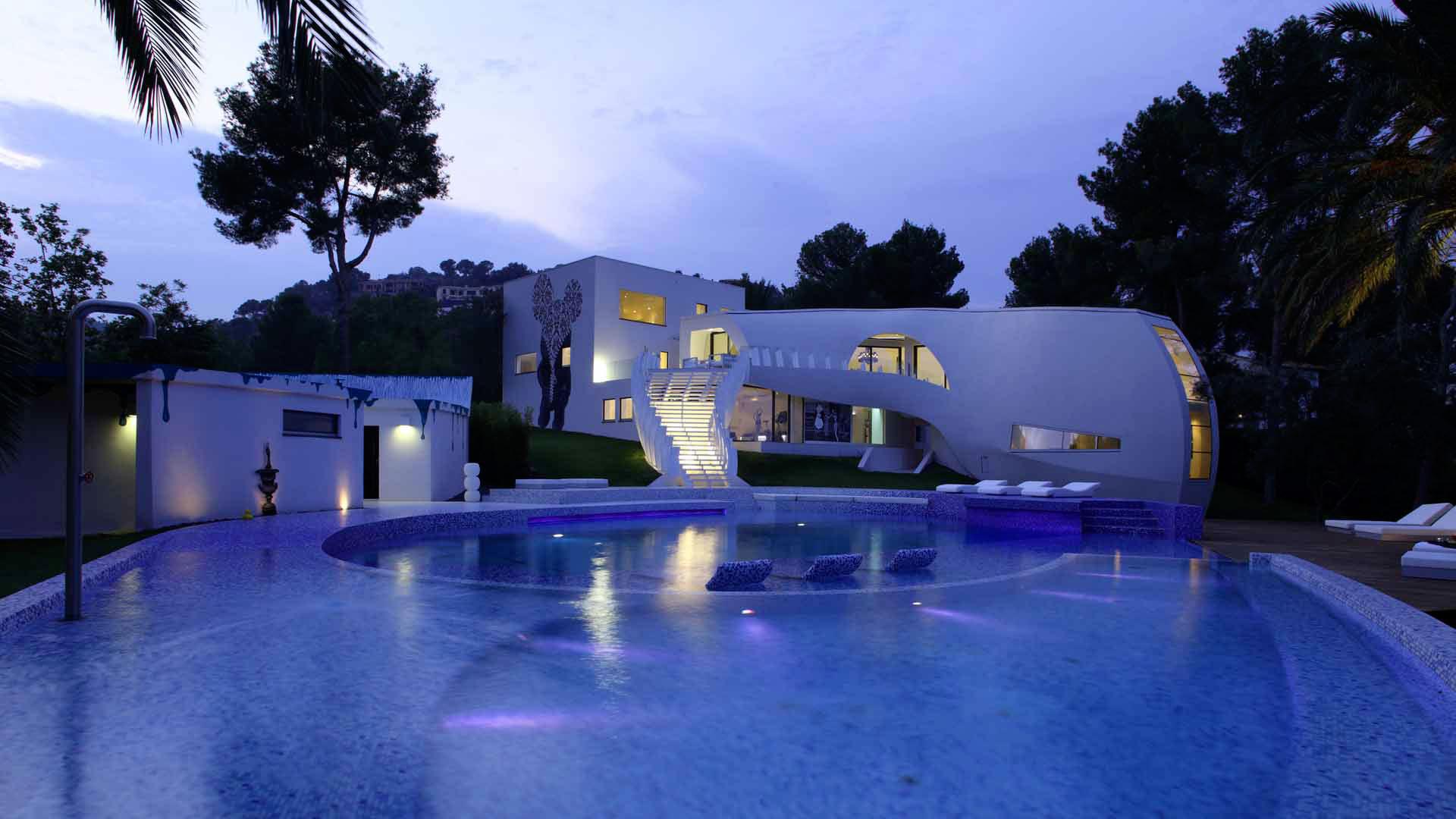 Ultramodern Casa Son Vida by tecArchitecture and Marcel Wanders Studio-02