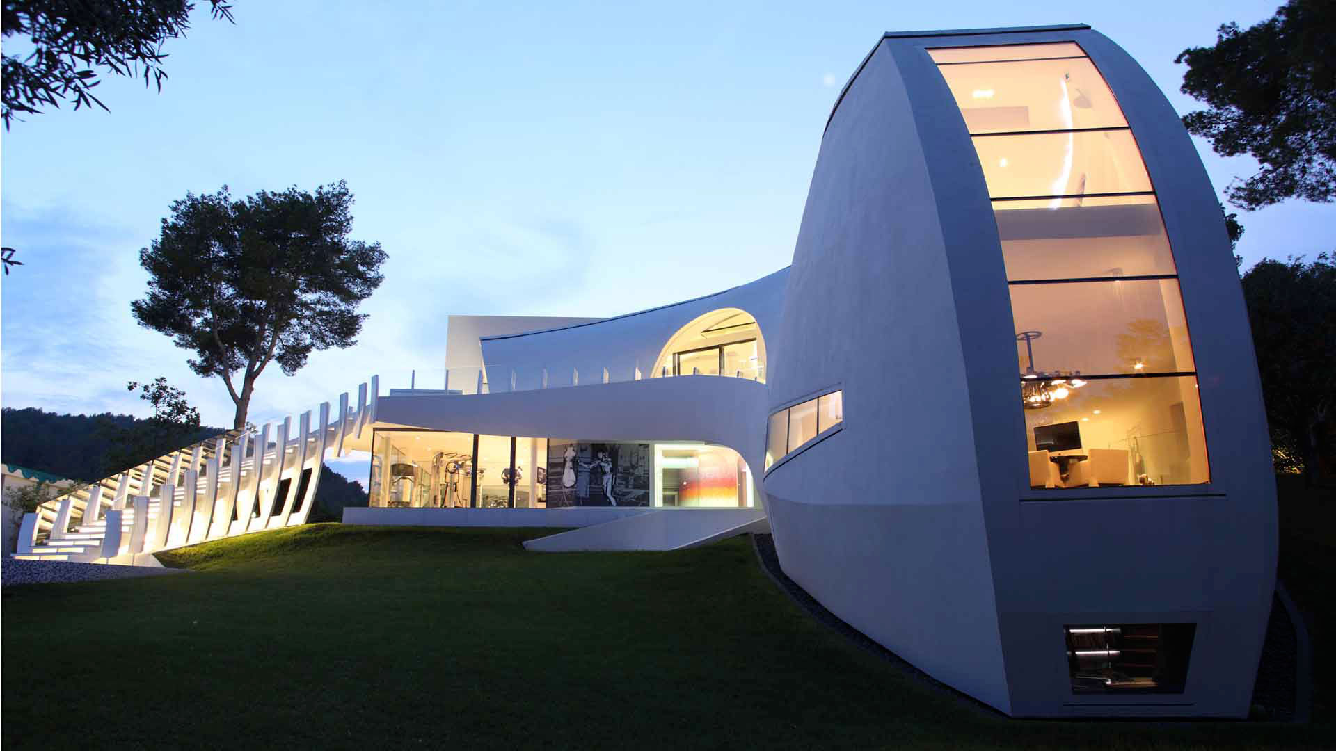 Ultramodern Casa Son Vida by tecArchitecture and Marcel Wanders Studio-13