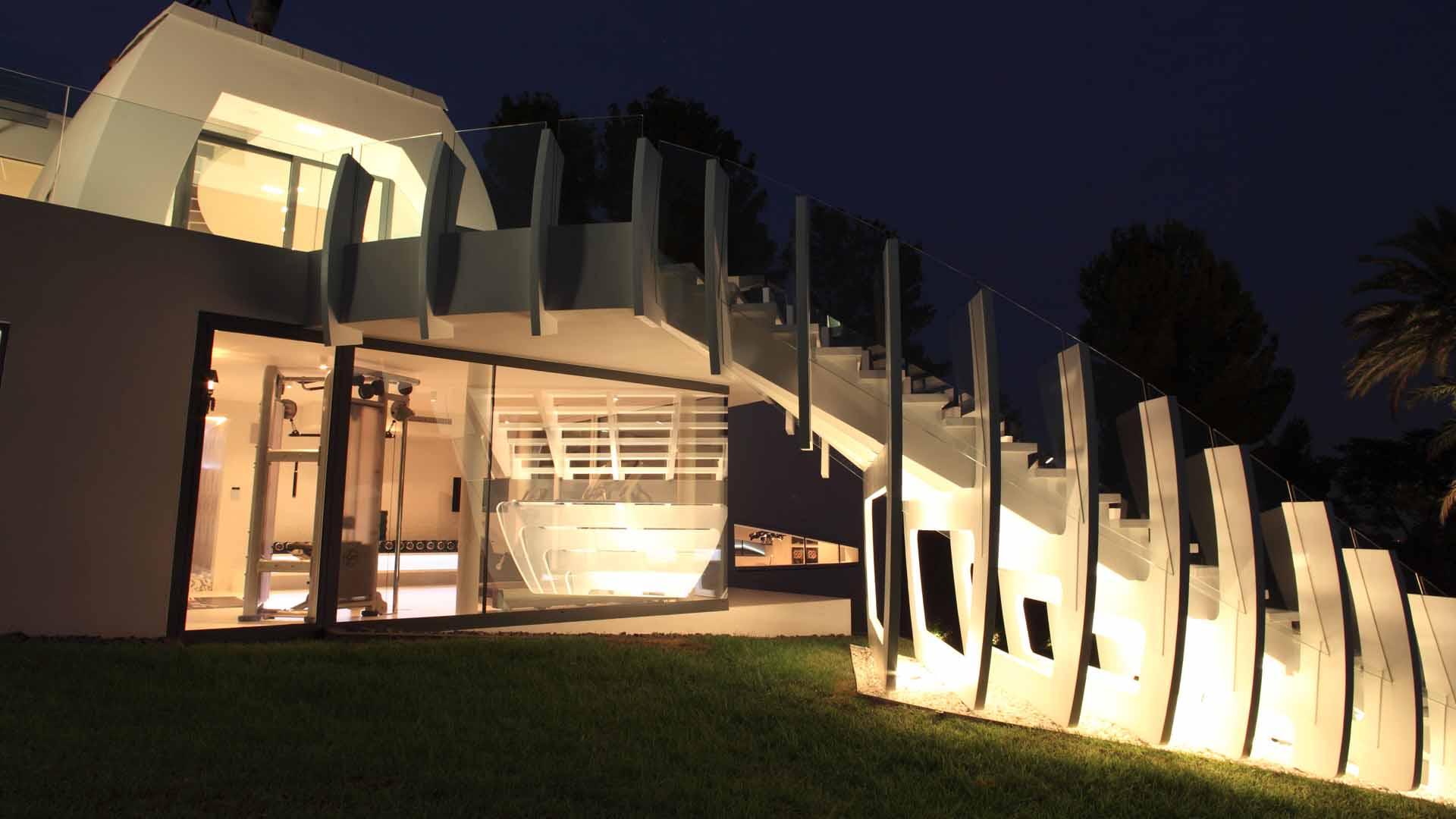 Ultramodern Casa Son Vida by tecArchitecture and Marcel Wanders Studio-16
