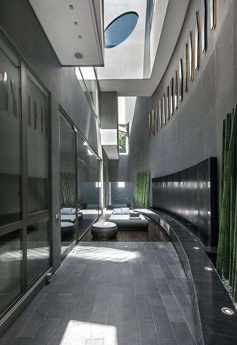 Ultramodern grey tone Al Saif Residence in Kuwait City by ROMA International For Construction and Decoration-06