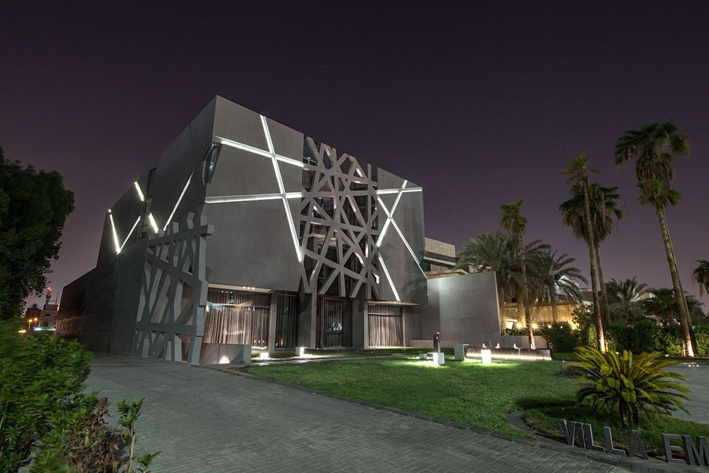 Ultramodern grey tone Al Saif Residence in Kuwait City by ROMA International For Construction and Decoration-22