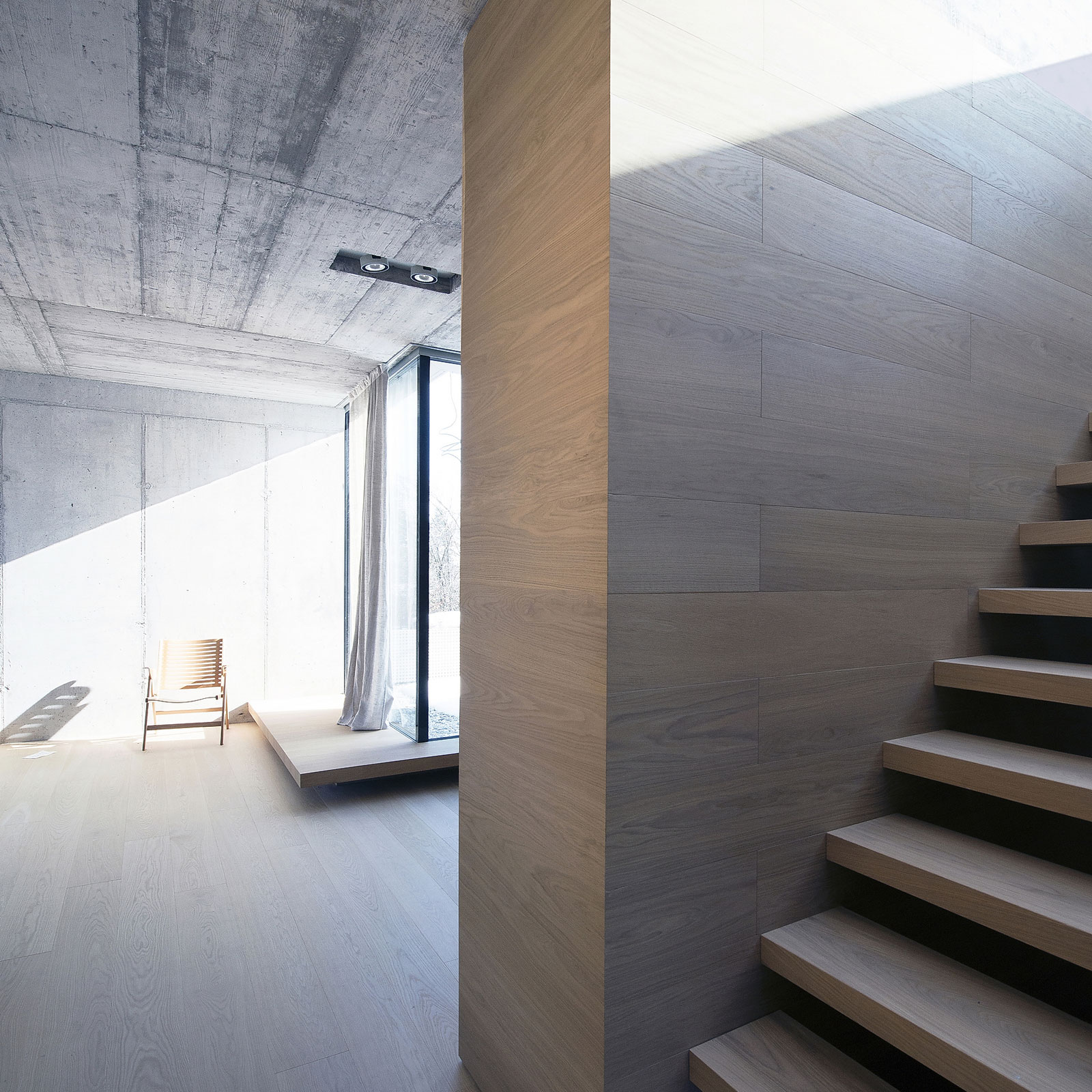 Villa Criss-Cross Envelope Located in Ljubljana by OFIS Architects-15