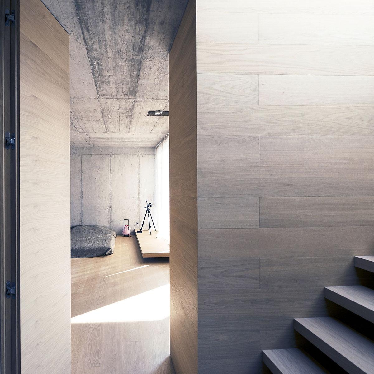 Villa Criss-Cross Envelope Located in Ljubljana by OFIS Architects-16