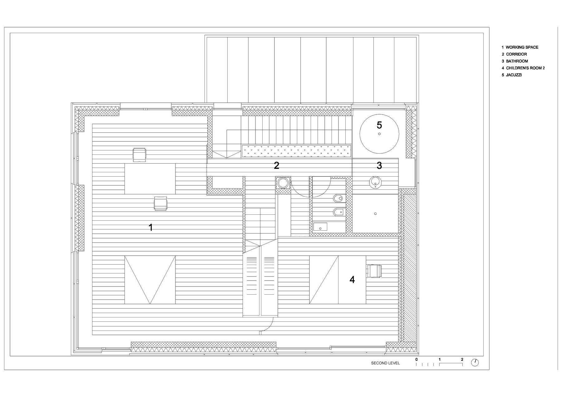 Villa Criss-Cross Envelope Located in Ljubljana by OFIS Architects-26