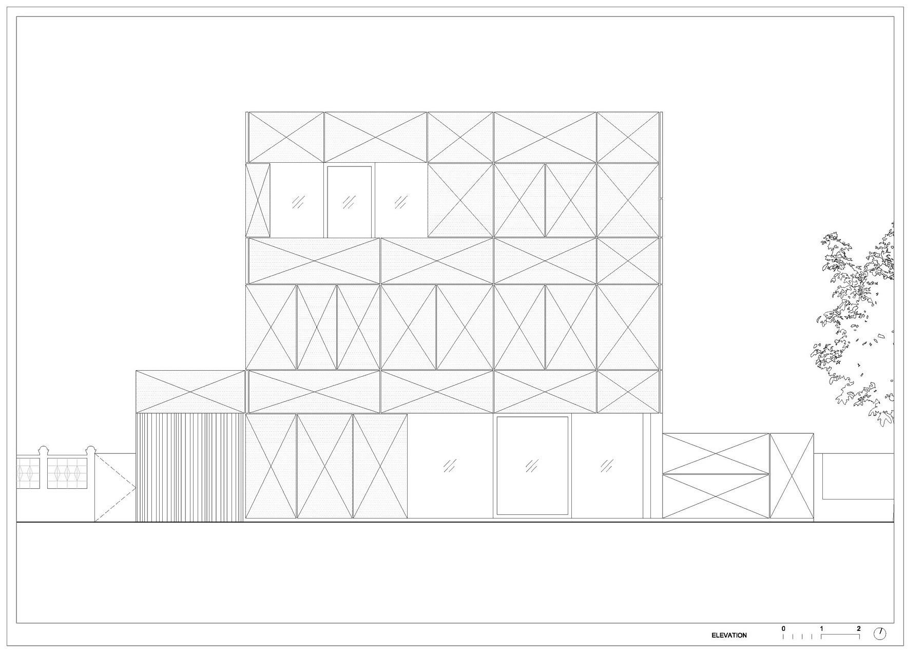 Villa Criss-Cross Envelope Located in Ljubljana by OFIS Architects-30