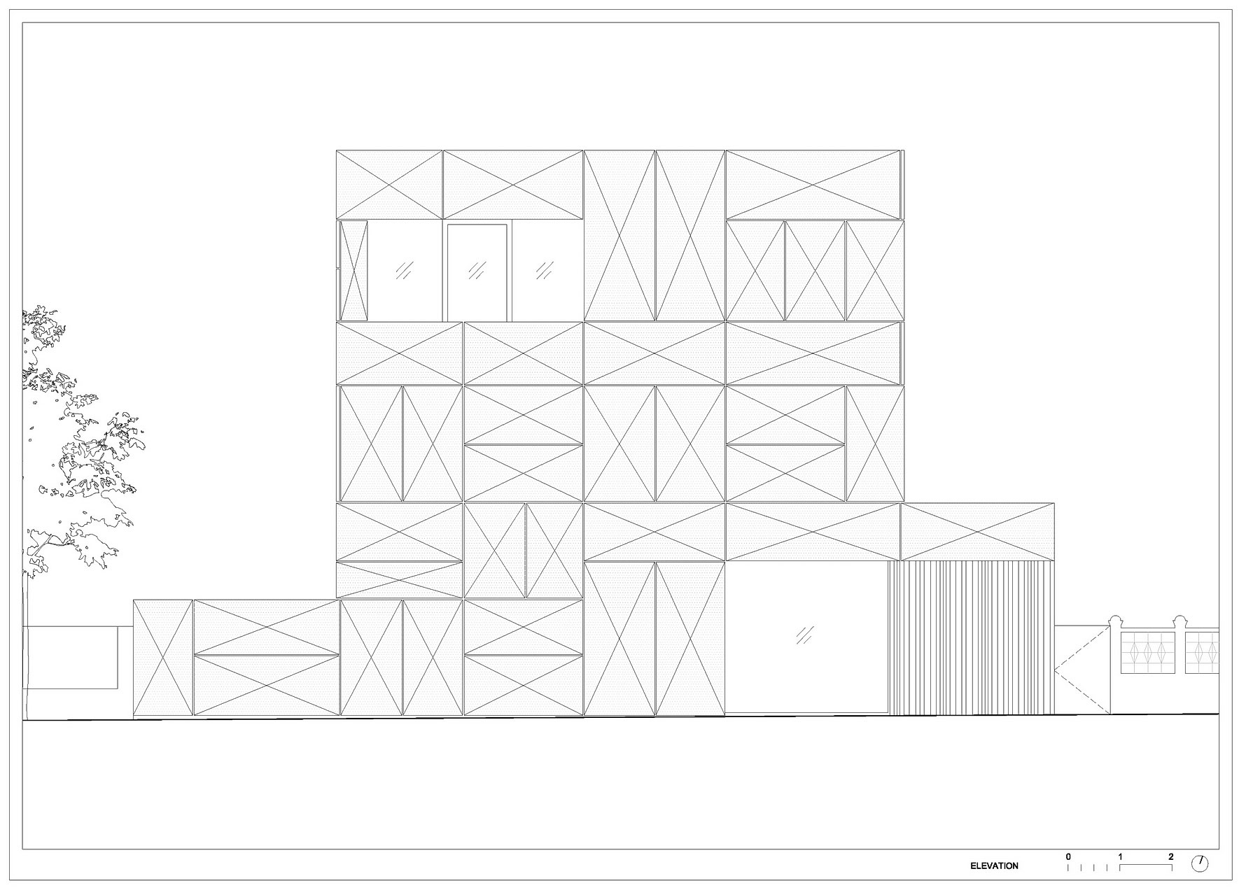 Villa Criss-Cross Envelope Located in Ljubljana by OFIS Architects-31