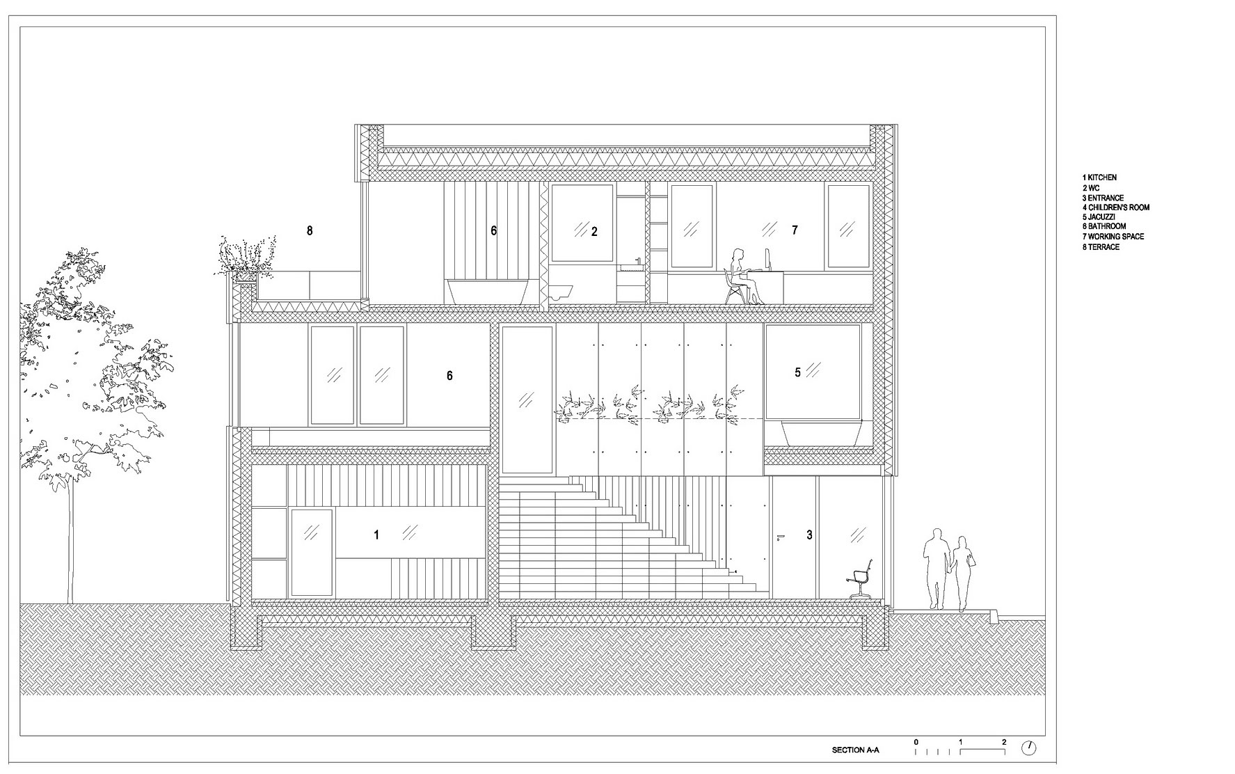 Villa Criss-Cross Envelope Located in Ljubljana by OFIS Architects-33