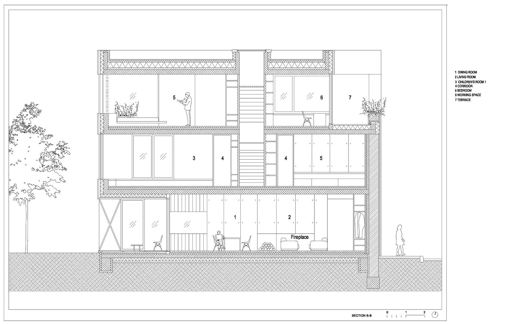 Villa Criss-Cross Envelope Located in Ljubljana by OFIS Architects-34