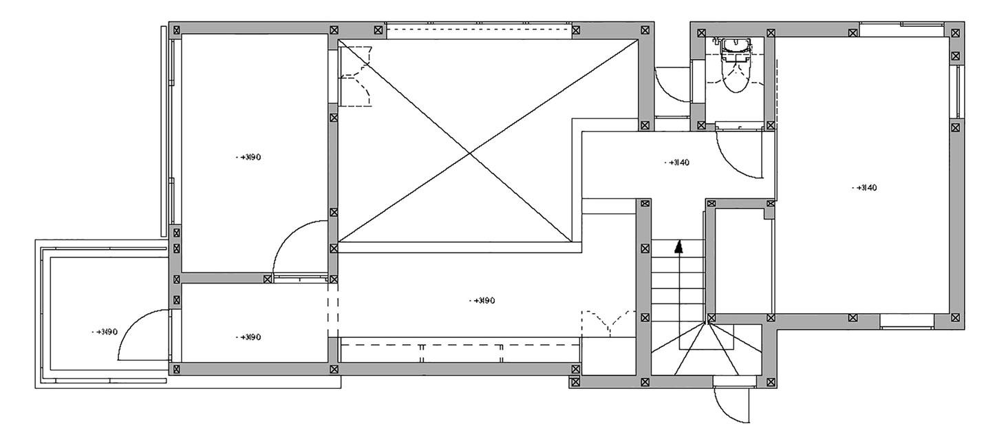 White theme house in Tama-Plaza, Yokohama by Takushu ARAI Architects-16