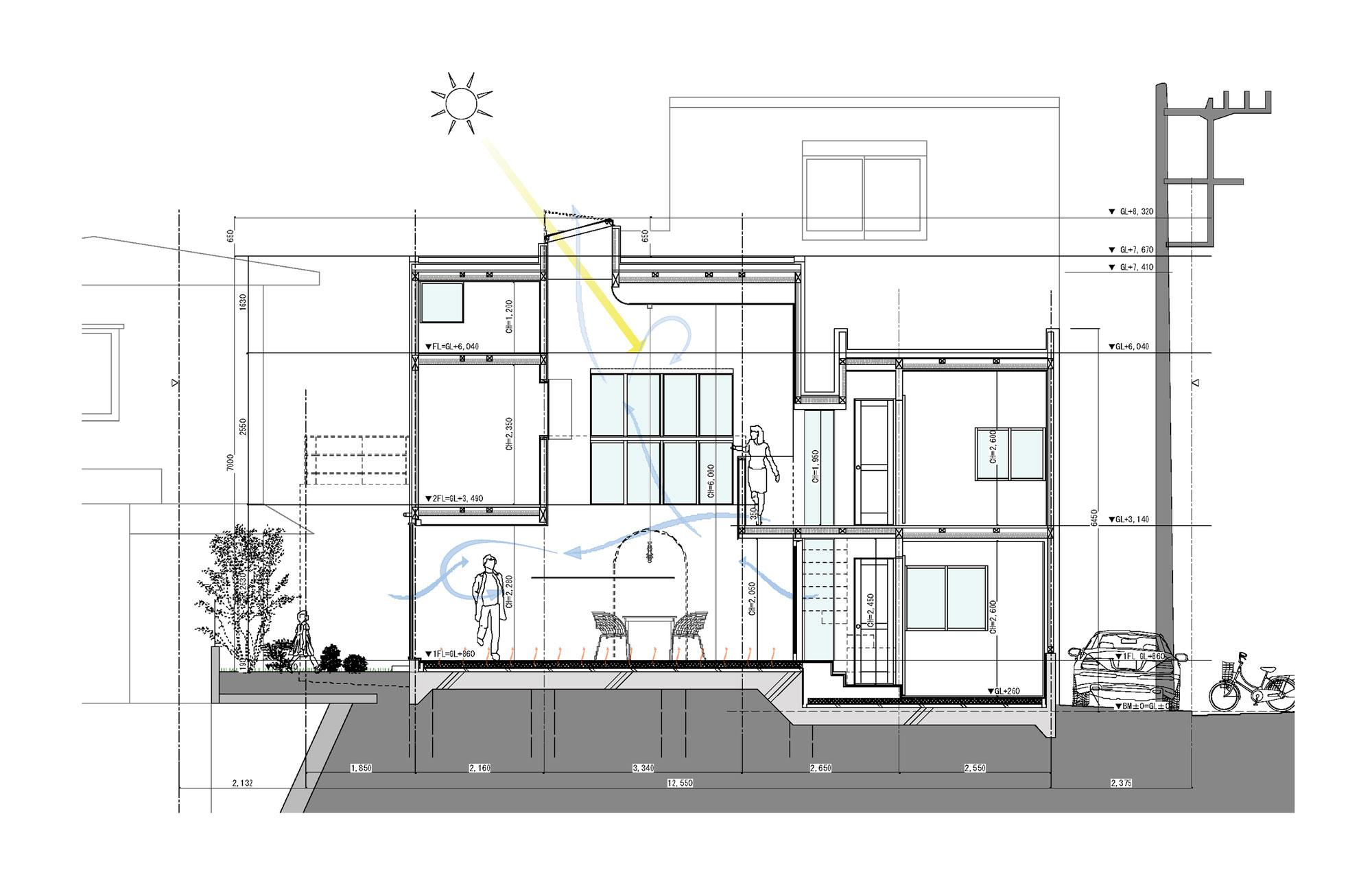 White theme house in Tama-Plaza, Yokohama by Takushu ARAI Architects-17