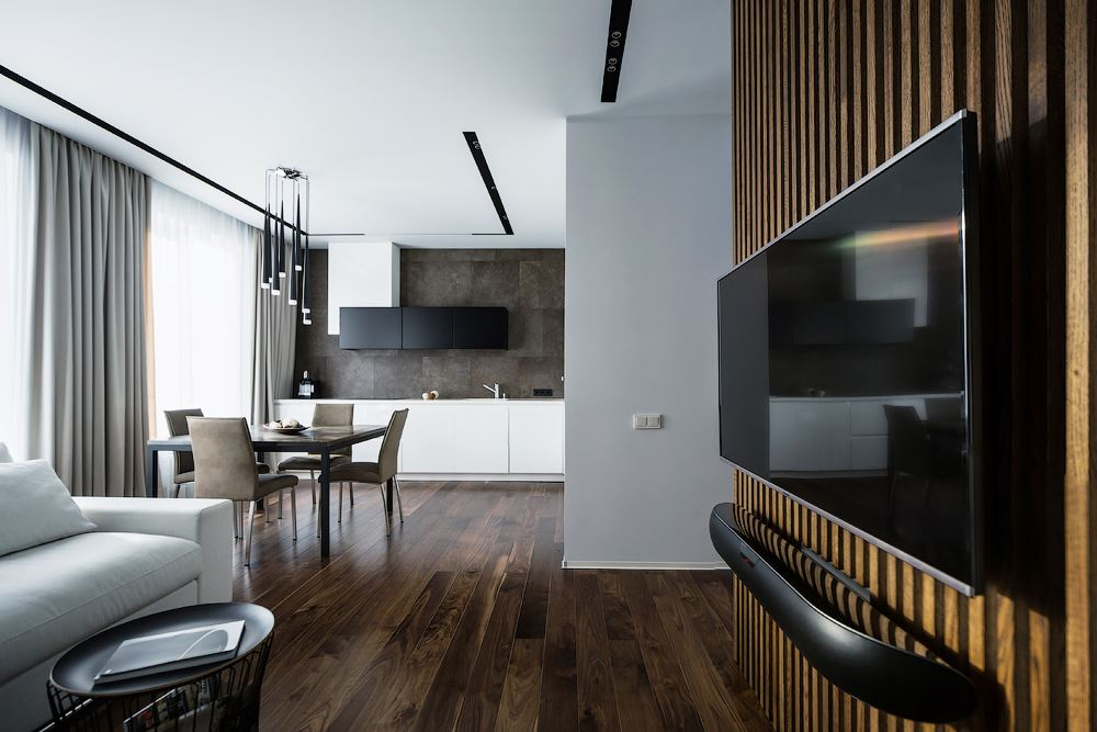 Wood theme apartment in St. Petersburg by Pavel Isaev-02
