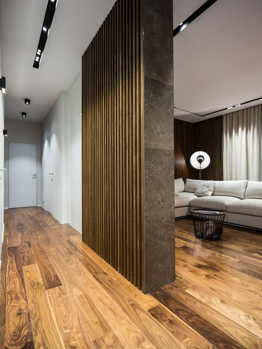 Wood theme apartment in St. Petersburg by Pavel Isaev-10