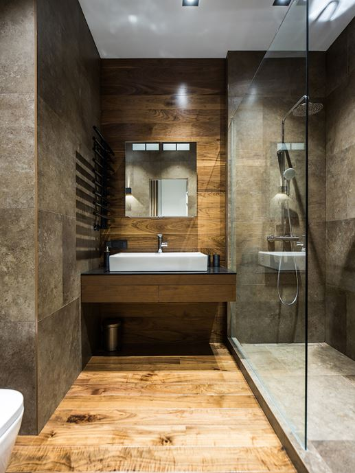 Wood theme apartment in St. Petersburg by Pavel Isaev-13