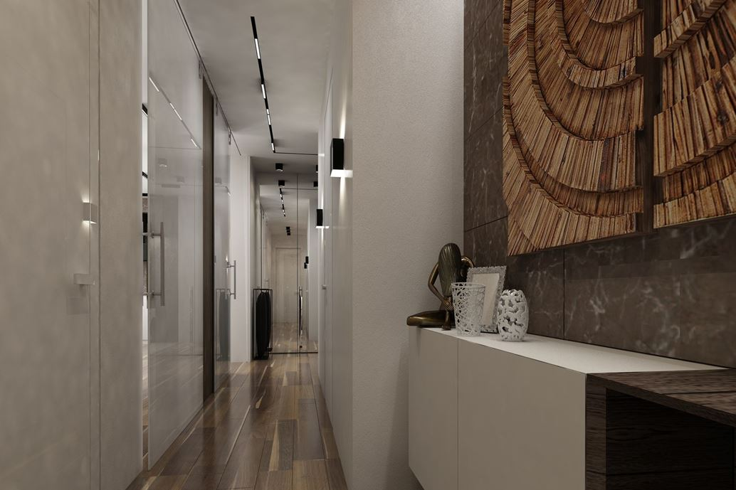 Wood theme apartment in St. Petersburg by Pavel Isaev-18