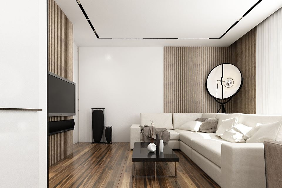 Wood theme apartment in St. Petersburg by Pavel Isaev-21