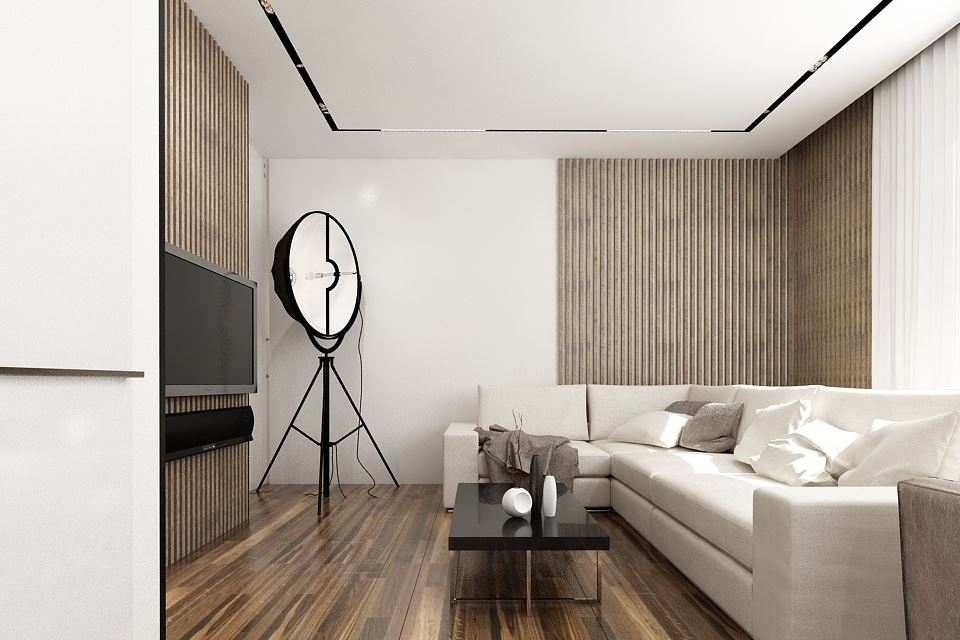 Wood theme apartment in St. Petersburg by Pavel Isaev-22