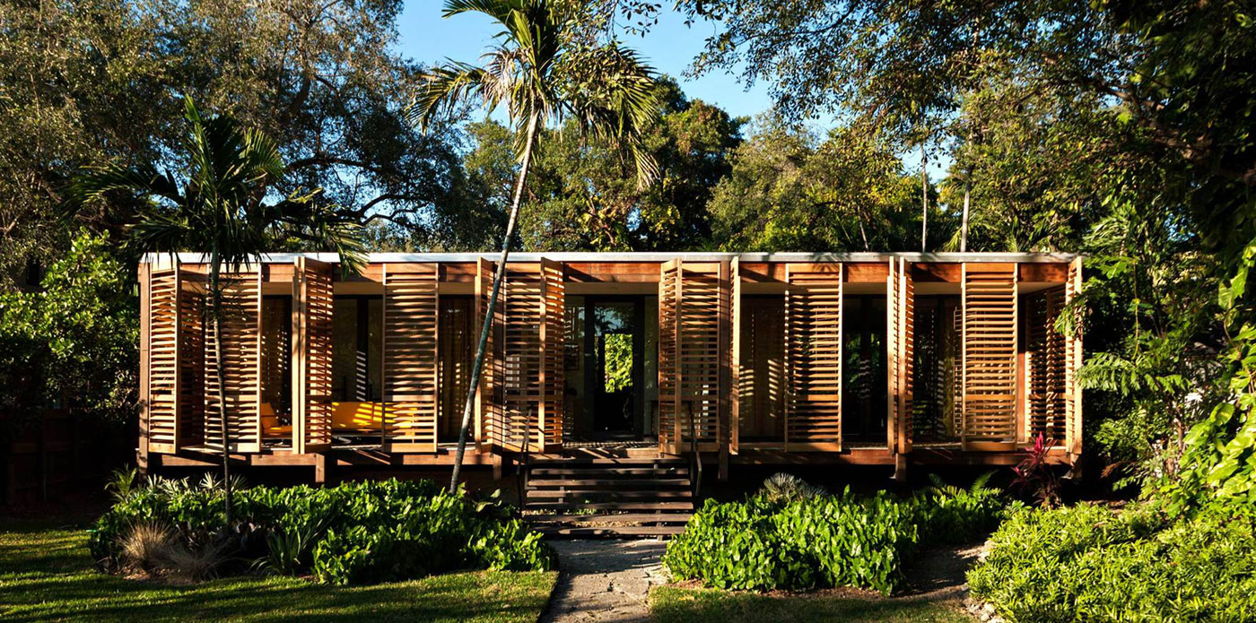 Wooden Tropical Brillhart House Located in Miami by Brillhart Architecture-01