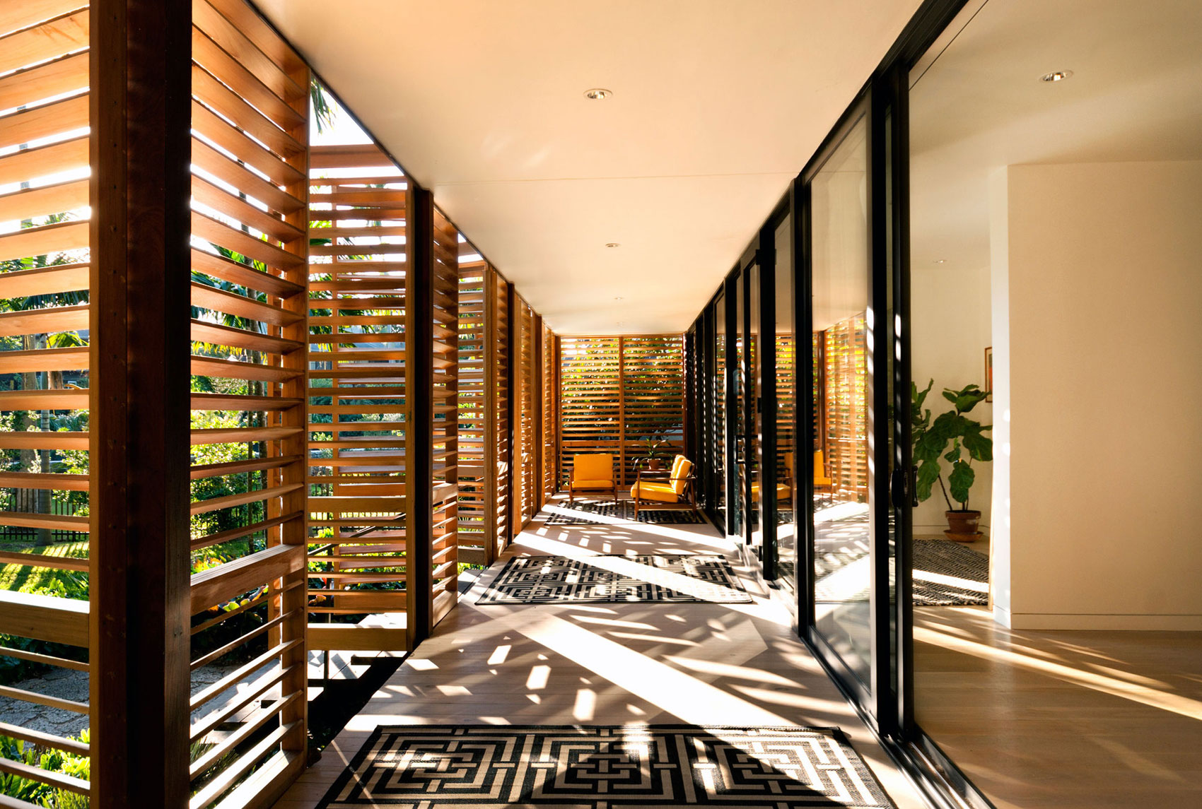 Wooden Tropical Brillhart House Located in Miami by Brillhart Architecture-02