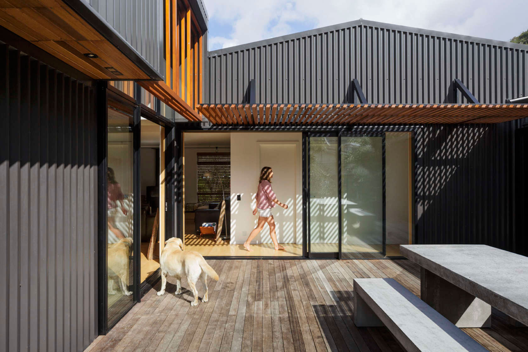 Offset Shed Home In Gisborne By Irving Smith Jack