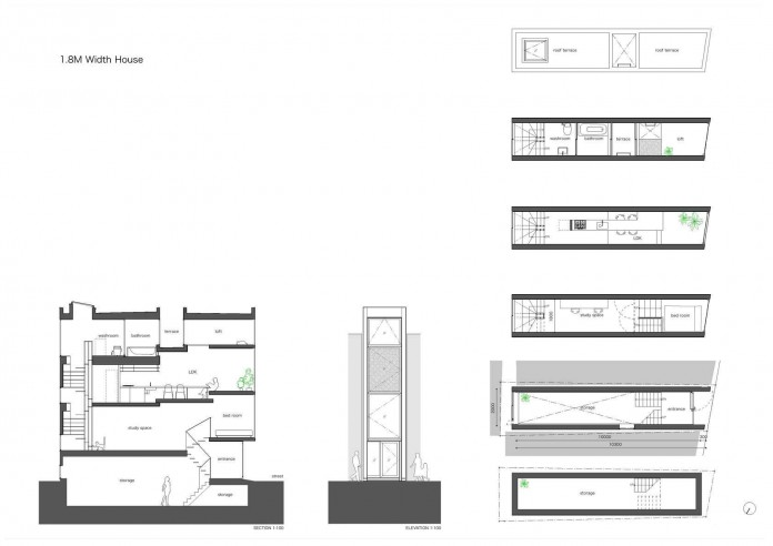 1.8-M-Width-House-by-YUUA-Architects-&-Associates-12