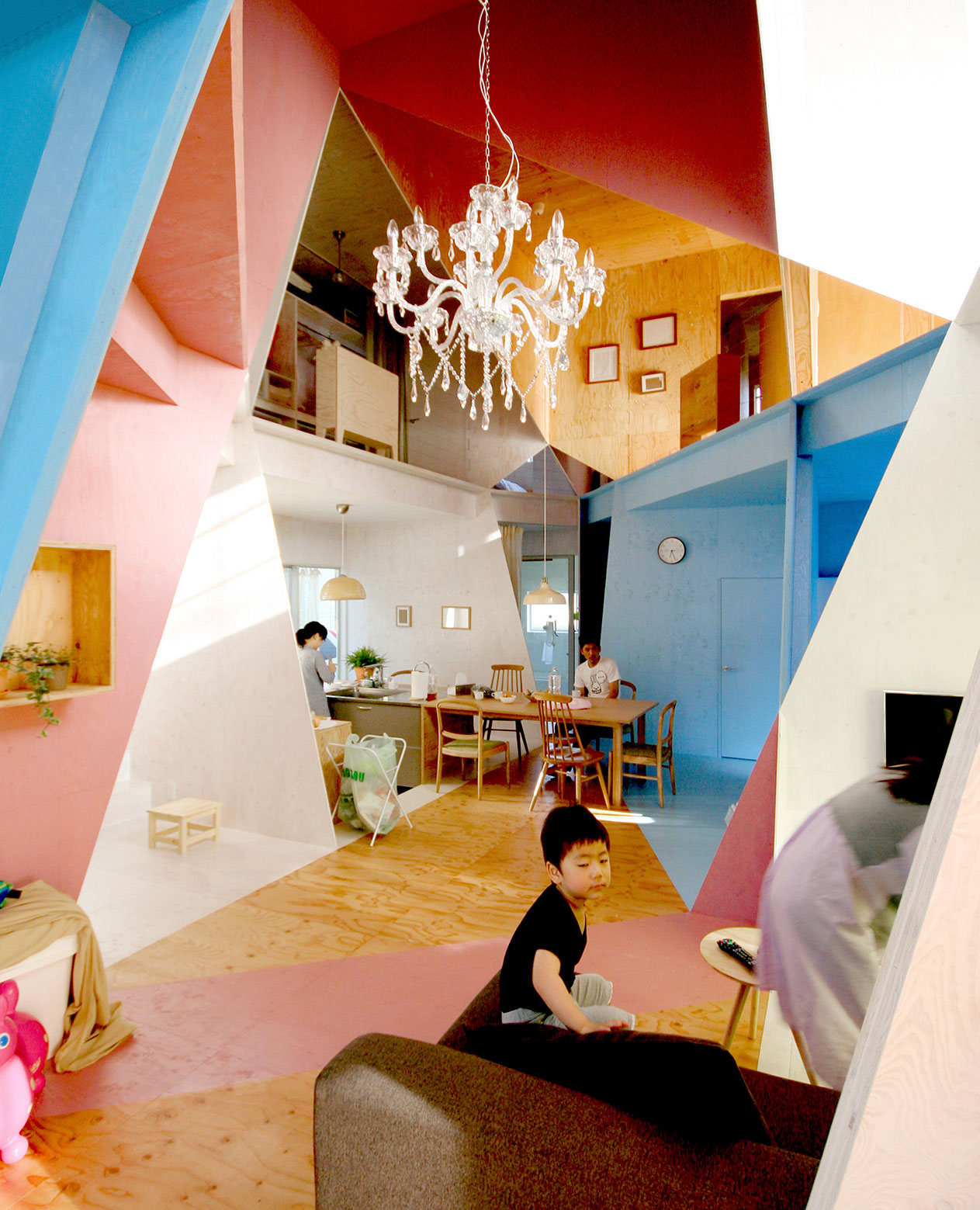 Apartment – House in Tokyo by Kochi Architect's Studio-05