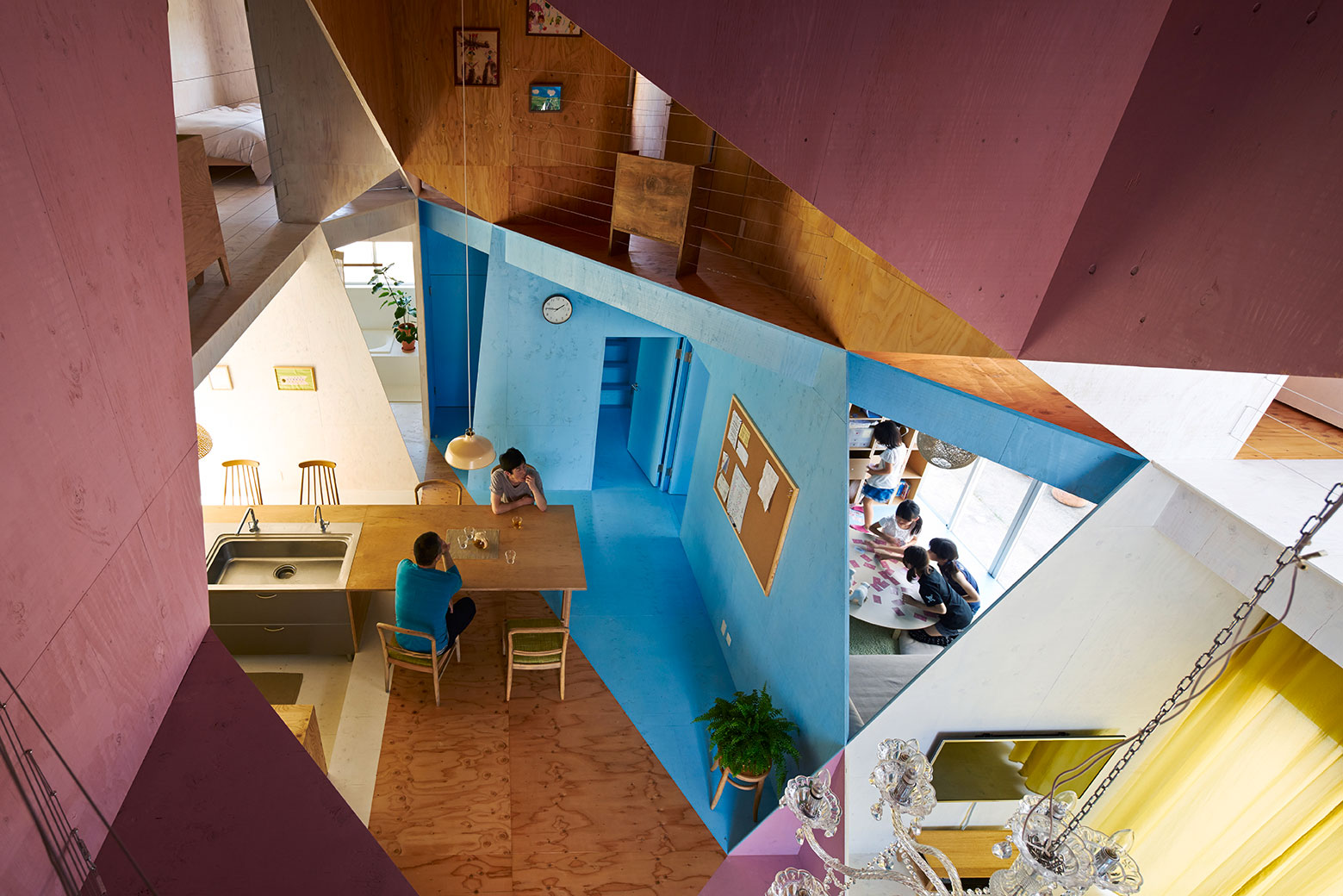 Apartment – House in Tokyo by Kochi Architect's Studio-07