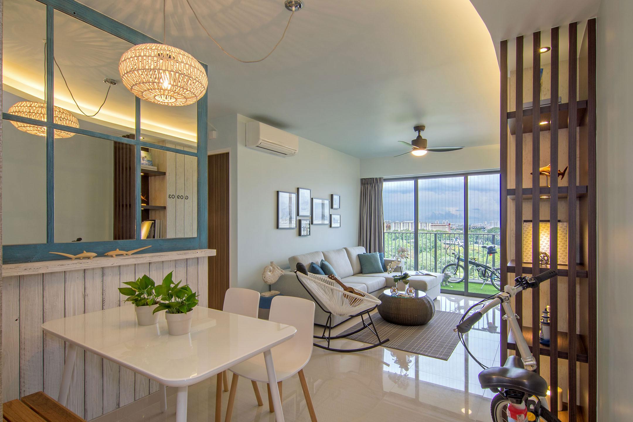 Beach house urban apartment in singapore by vievva for Apartment urban design