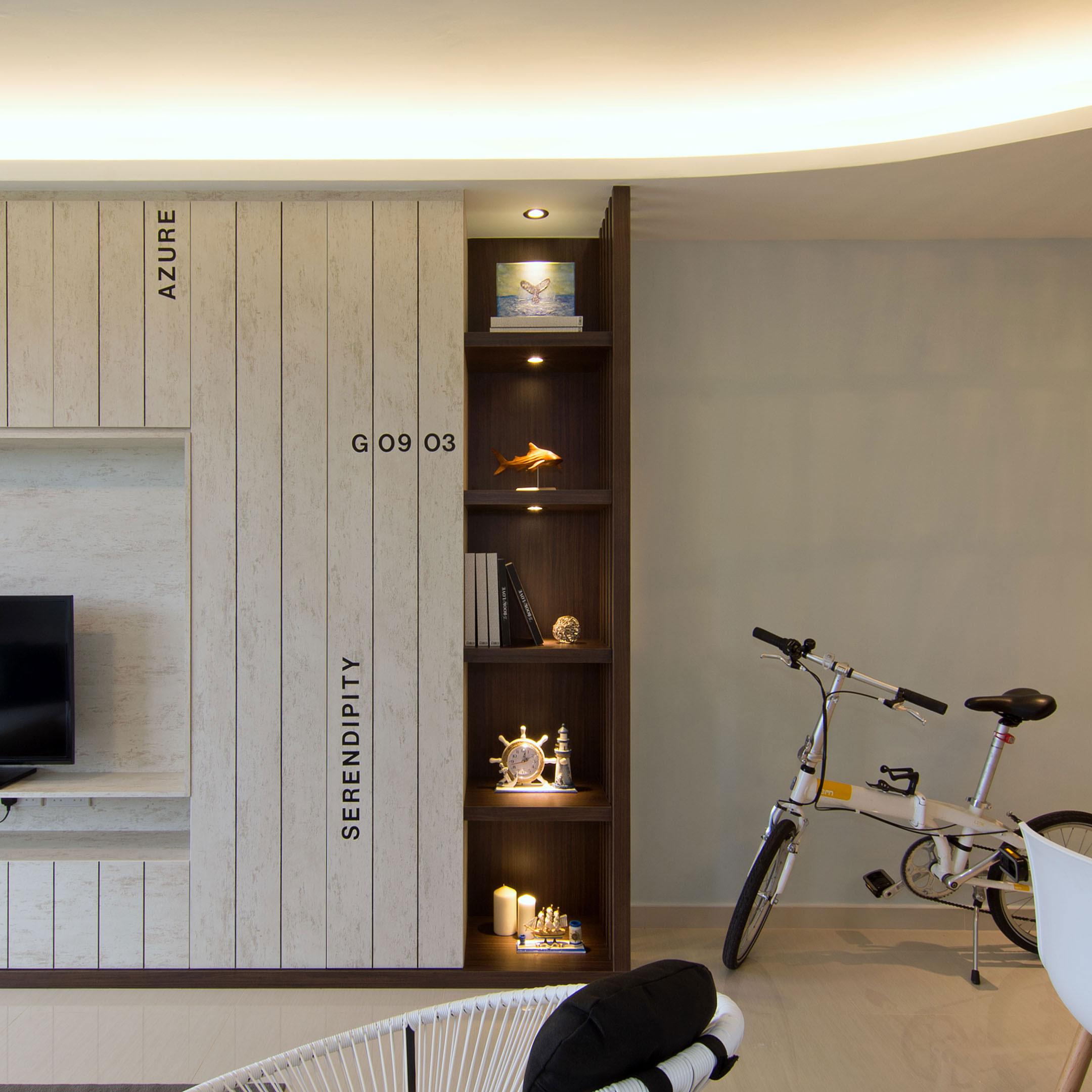 Beach house urban apartment in Singapore by Vievva Designers-04