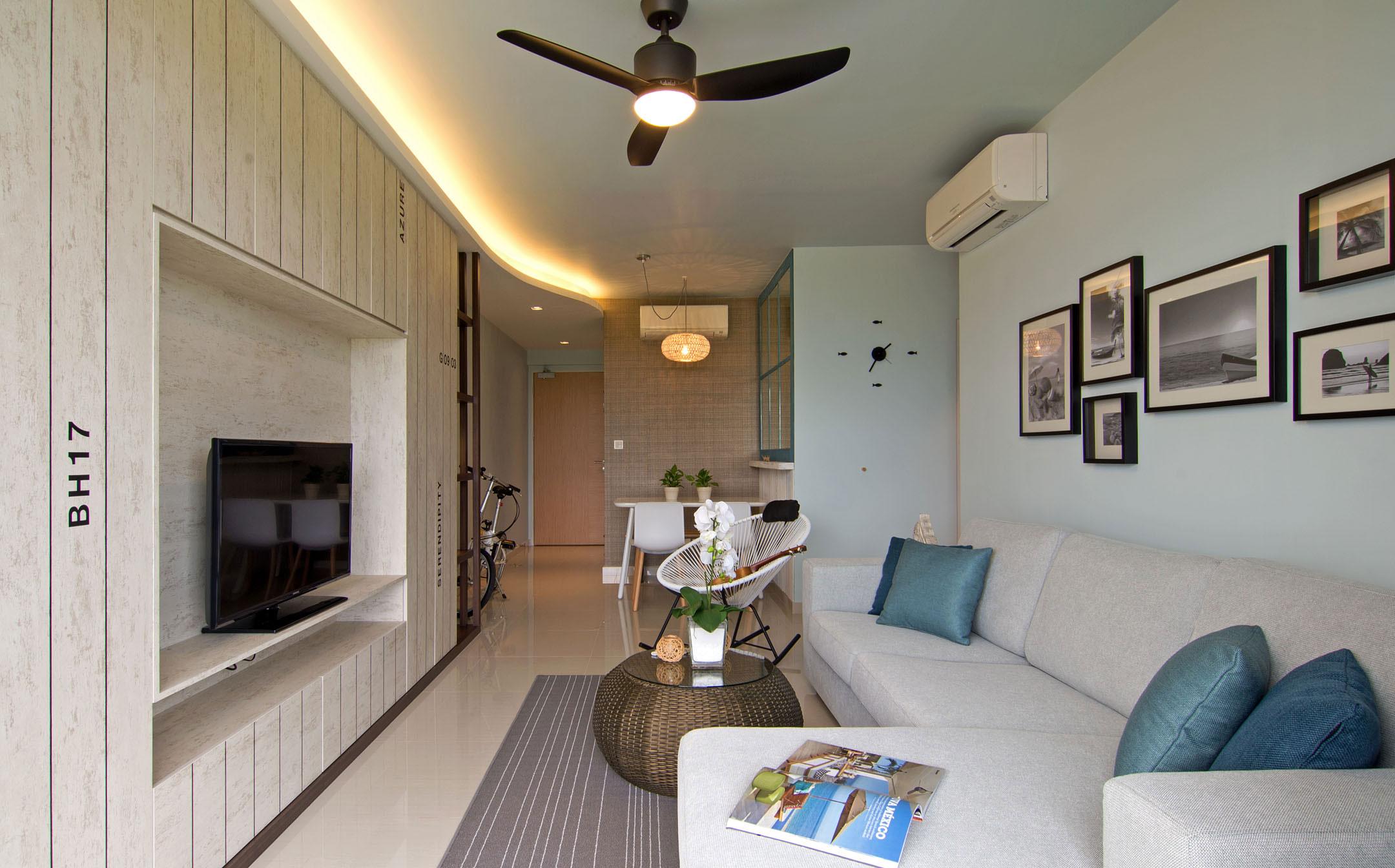 Beach house urban apartment in Singapore by Vievva Designers-08