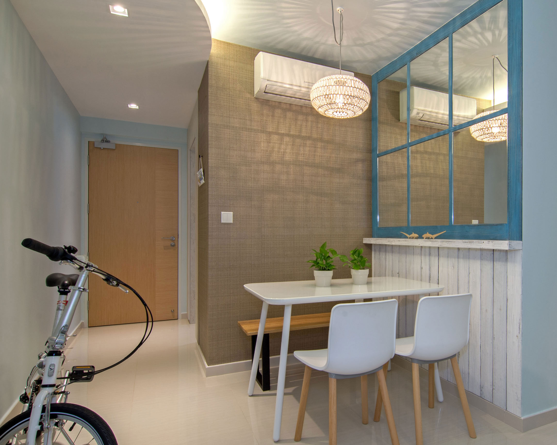 Beach house urban apartment in Singapore by Vievva Designers-10