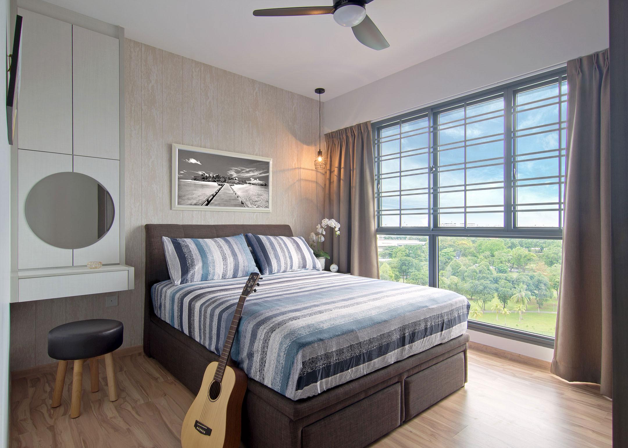 Beach house urban apartment in Singapore by Vievva Designers-11