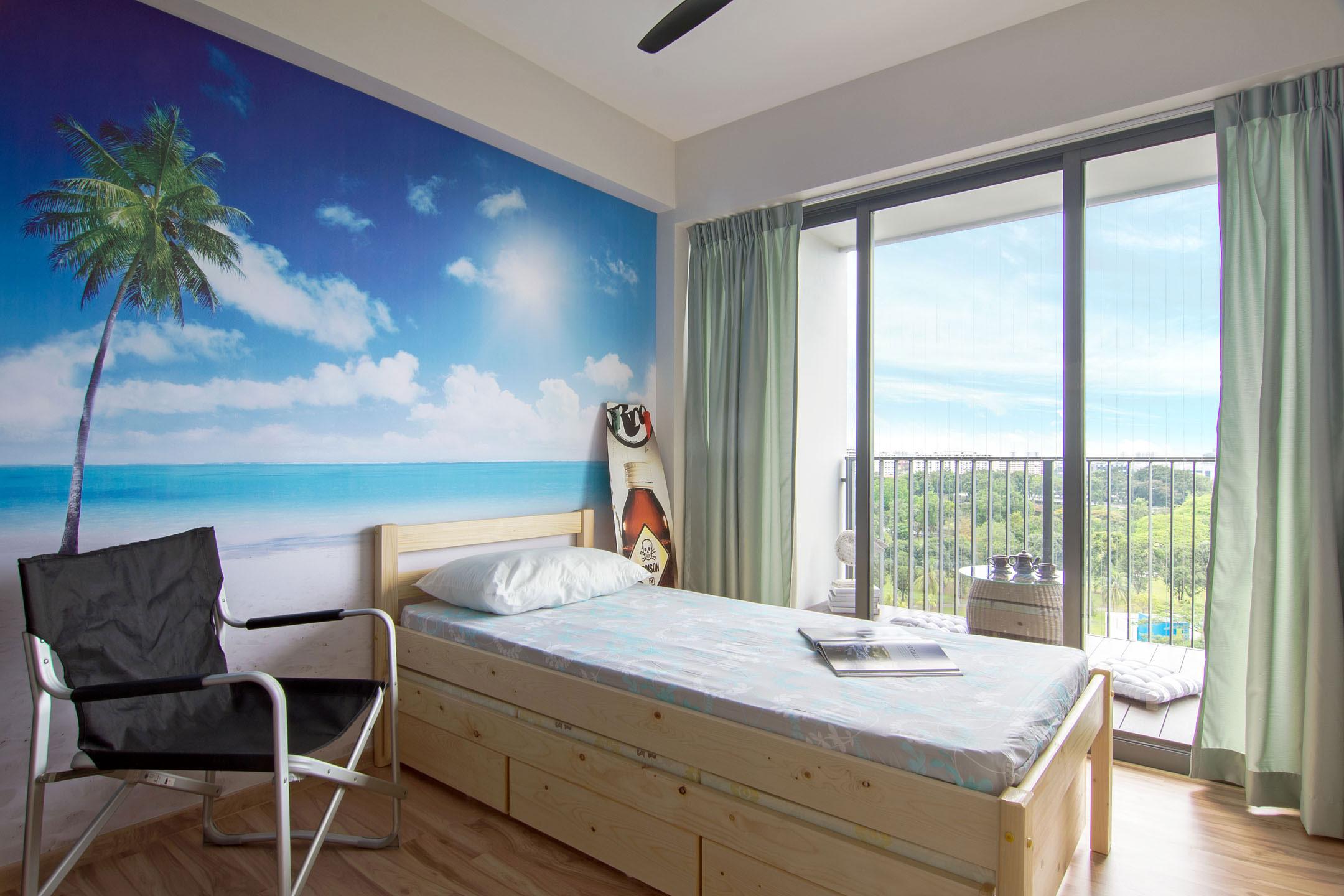 Beach house urban apartment in Singapore by Vievva Designers-12